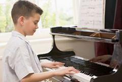 Klavierschüler